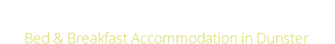 Exmoor House Dunster Logo