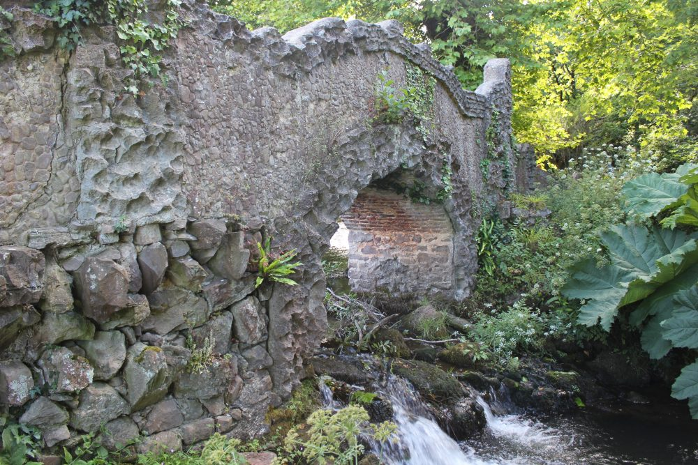 Lovers Bridge Dunster Castle